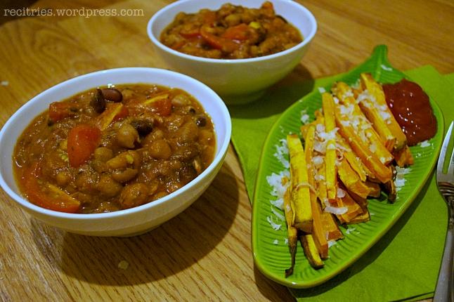homemade-beans-chips